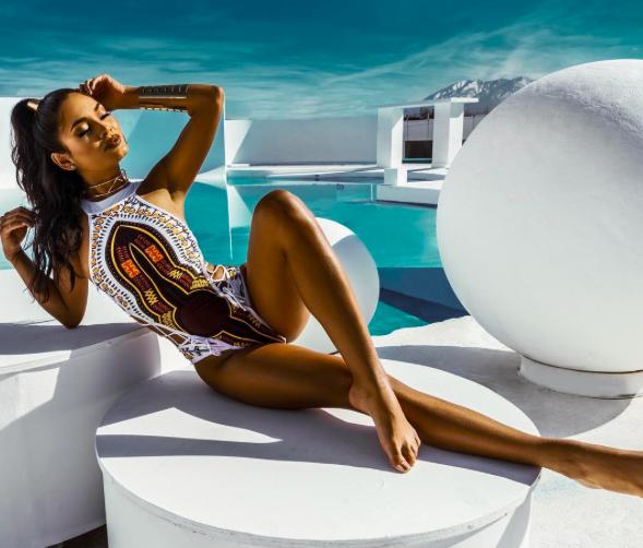 Aline Cara Luna Swimwear to die for