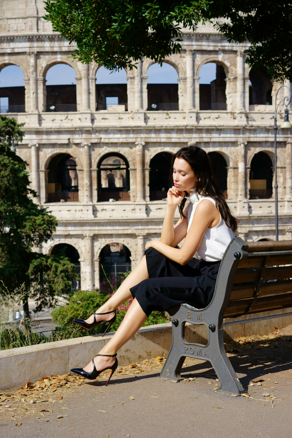 Aline Cara Luna Rome - the eternal city