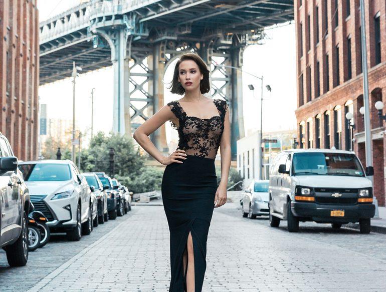 Aline Cara Luna Couture Dresses BYBUI