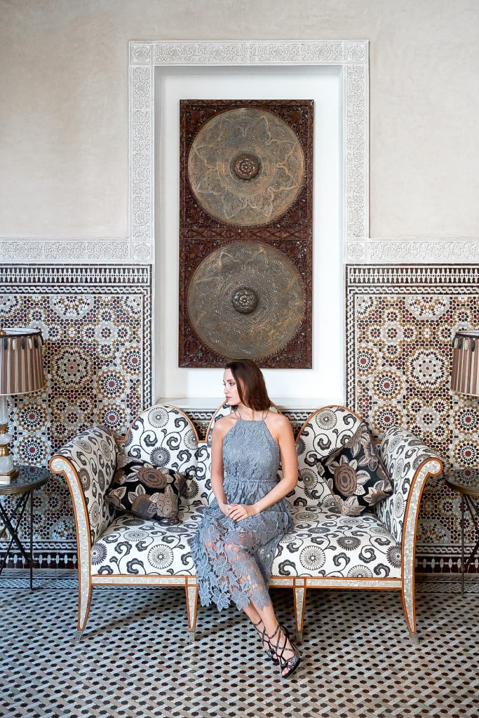 Aline Cara Luna Royal Mansour