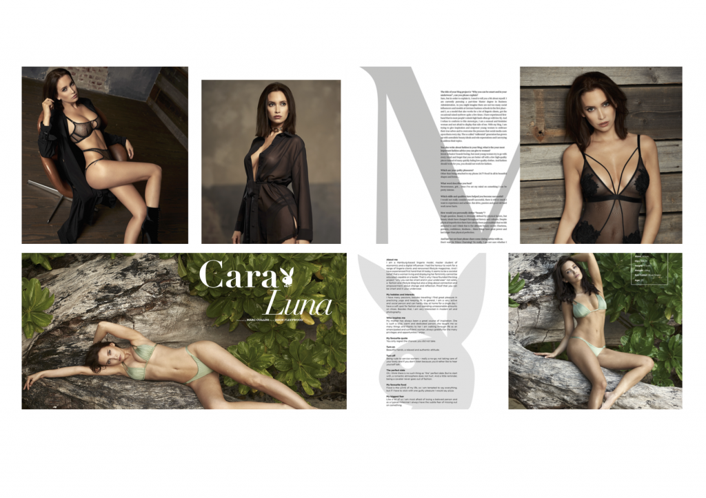Aline Cara Luna Publikationen